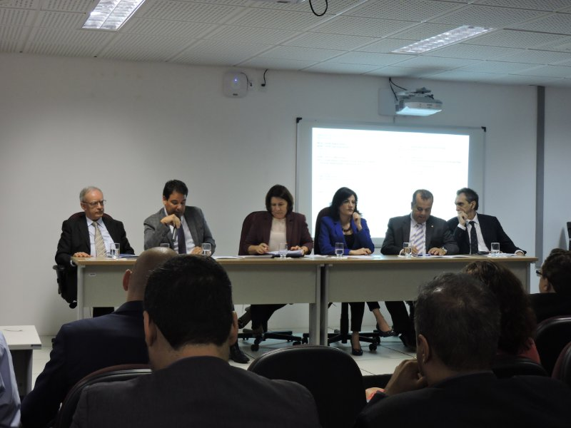 Panelists at the EU-Brazil cooperation workshop