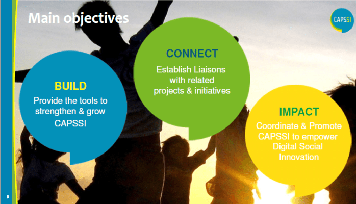 CAPSSI - Collective Awareness Platforms for Sustainability and Social Innovation