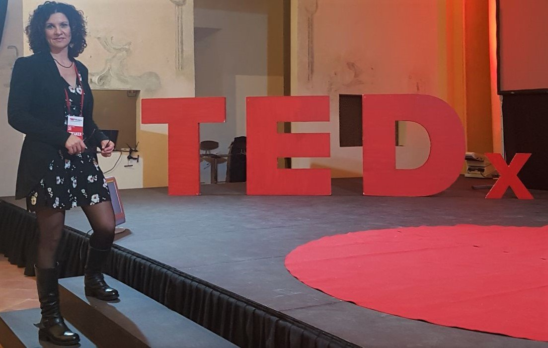 Dr Monique Calisti at TEDx Modena Salon