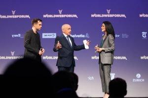 Ueli Maurer, Swiss Confederation 2019 president at WorldWebForum. Photo: https://worldwebforum.com/impressions-conference-2019/
