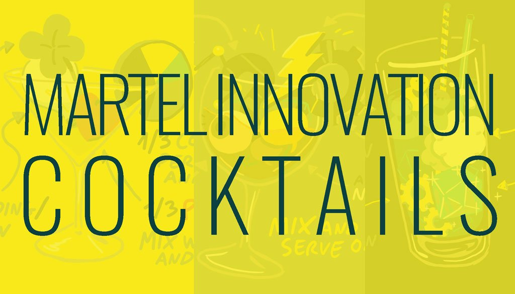 Martel Innovation cocktails