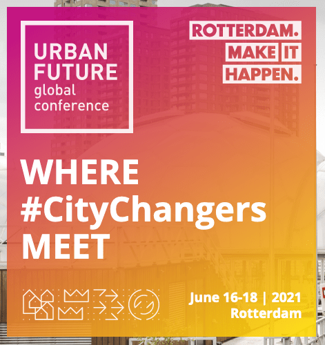 Urban future conference @ Rotterdam, Netherlands