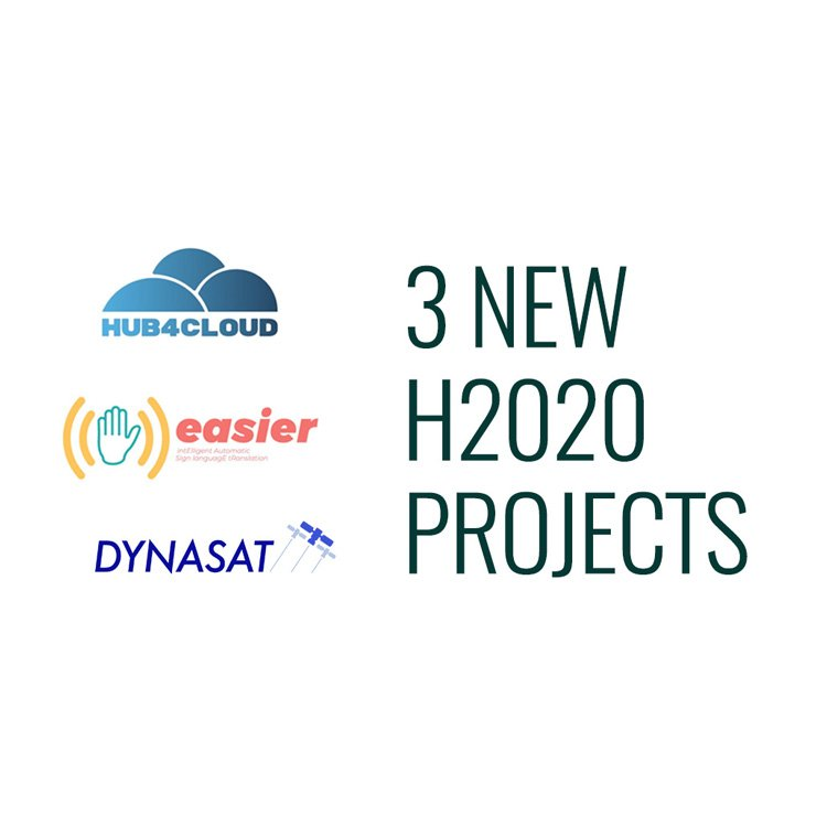 3 new h2020 projects